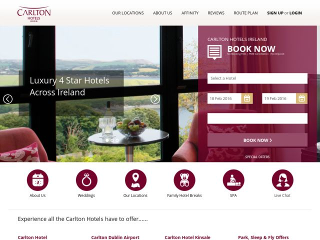 Coupons for Carlton Hotel Group Ireland