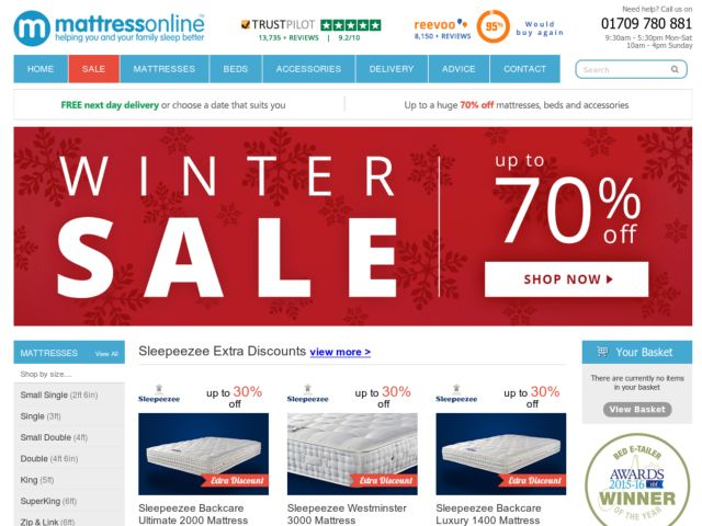 Coupons for Mattress Online