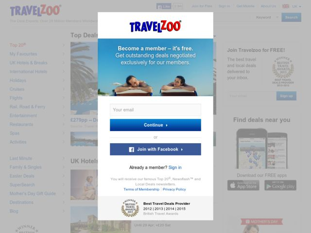 Travelzoo coupon code