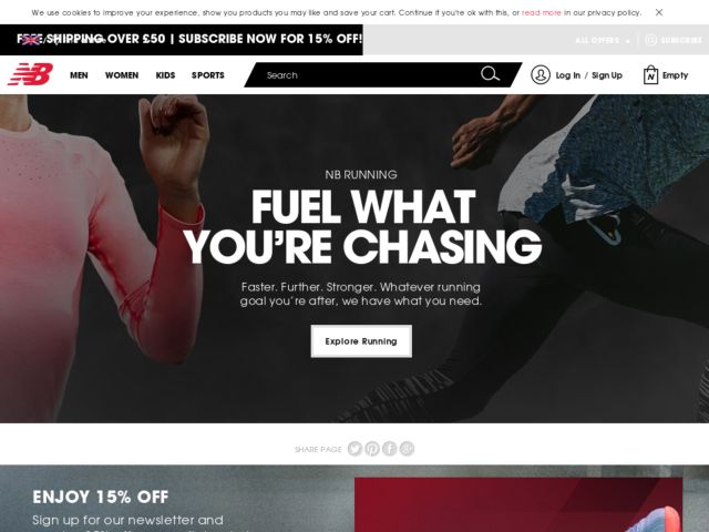 Coupons for New Balance