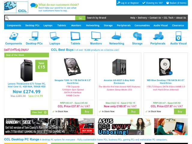 Coupons for CCL Computers Limited