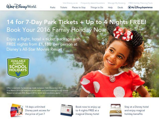 Coupons for Walt Disney World