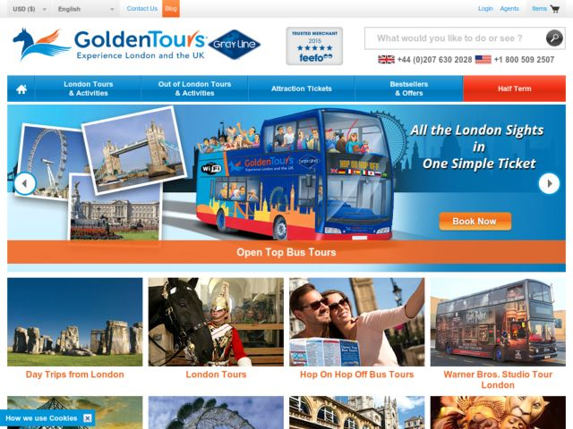 Coupons for Golden Tours