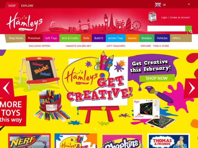 Coupons for Hamleys