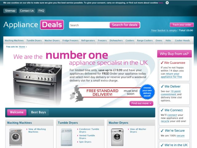 Coupons for Appliance Deals