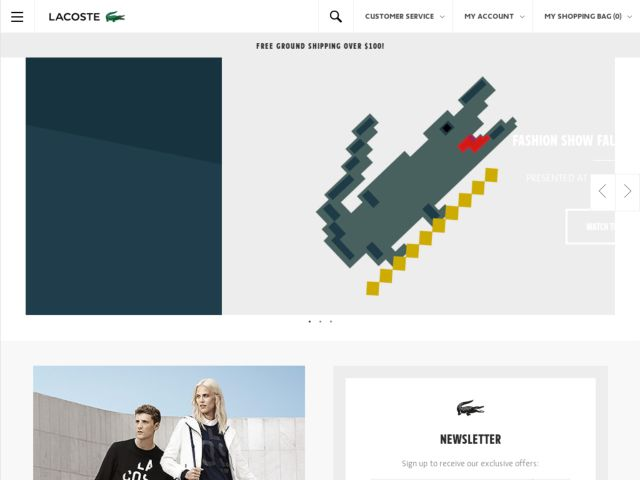 Coupons for Lacoste
