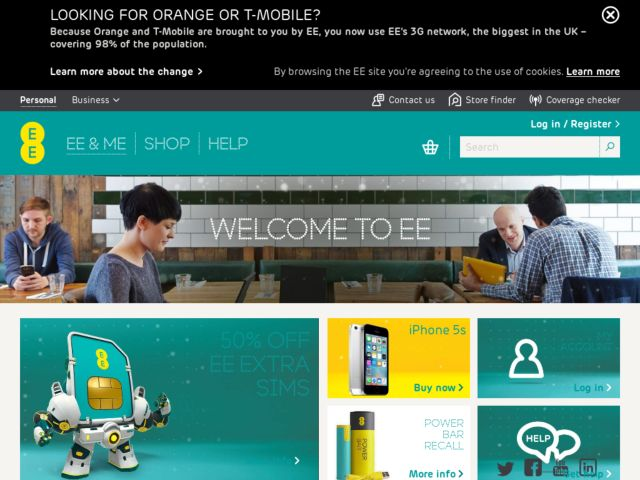 Coupons for EE Mobile