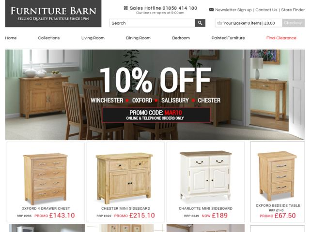 Coupons for Furniture Barn