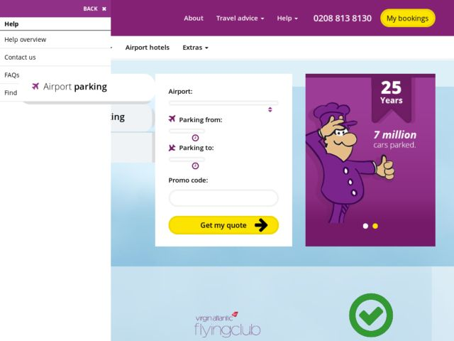 Save big on parking fees at airports across the UK by using off-airport parking services from Purple Parking. It's easy to book parking on the Purple Parking website, and parking is available at most major airports including Heathrow, Gatwick, Stansted, Manchester, and Luton.