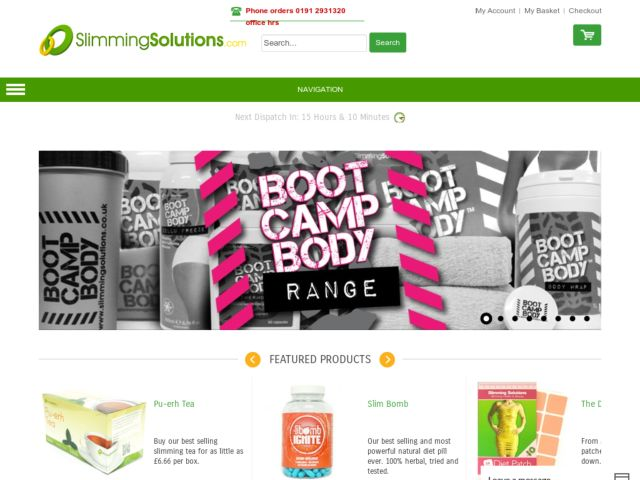 Coupons for Slimming Solutions
