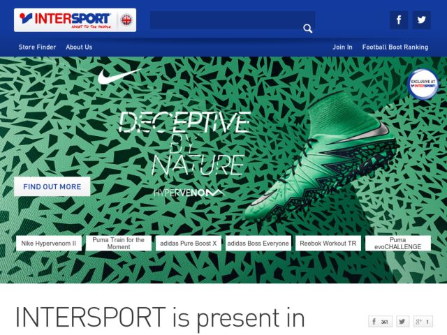 Coupons for Intersport