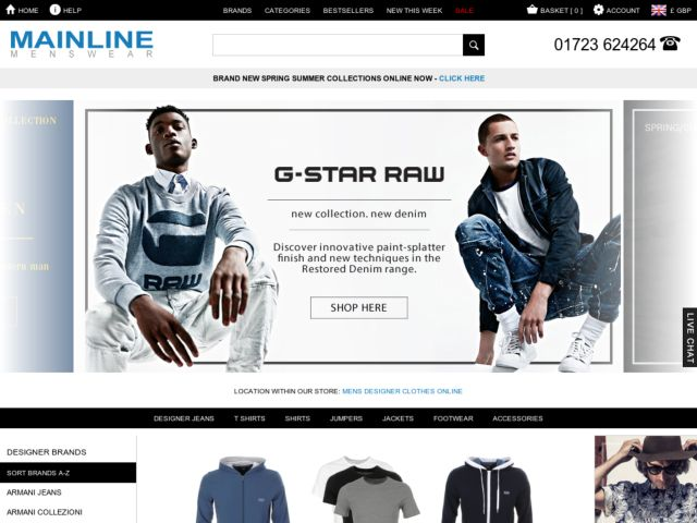 Coupons for Mainline Menswear