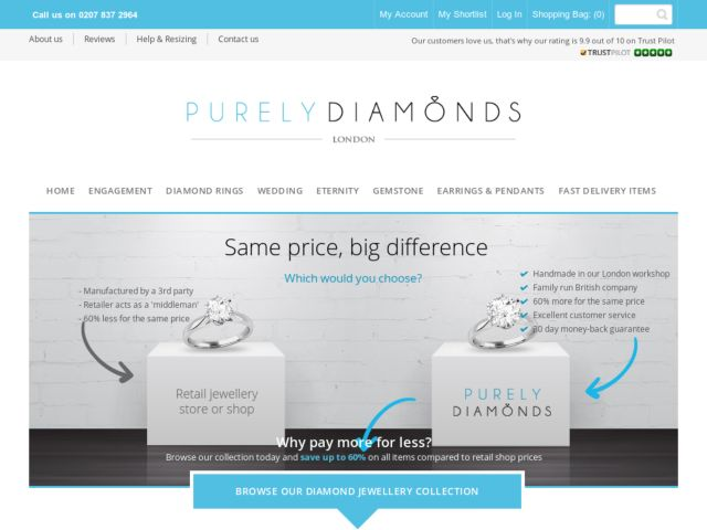 Coupons for Purely Diamonds
