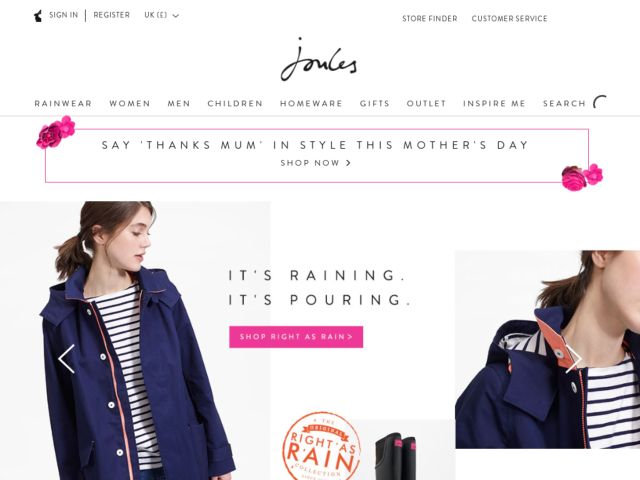 Coupons for Joules Clothing
