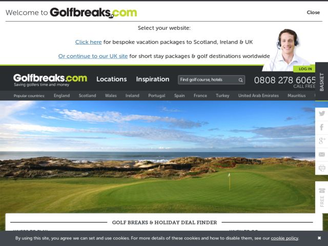 Coupons for Golfbreaks
