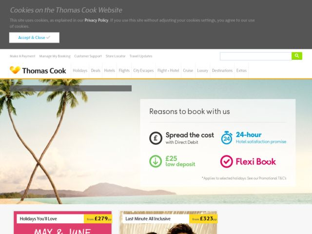 Coupons for Thomas Cook