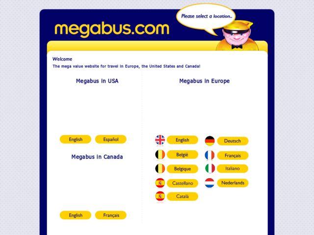 Coupons for Megabus