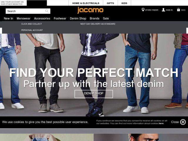 Coupons for Jacamo