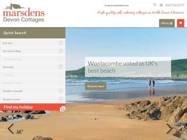 Coupons for Marsdens Cottage Holidays