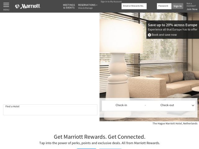 Coupons for Marriott UK and Ireland