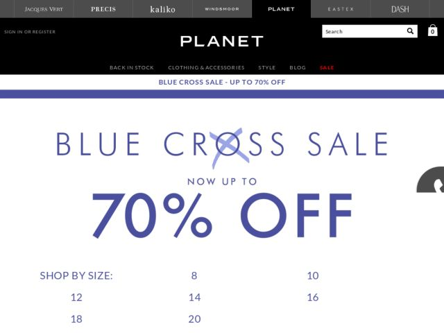 Coupons for Planet