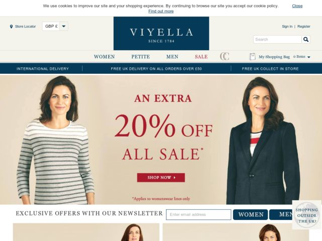 Coupons for Viyella