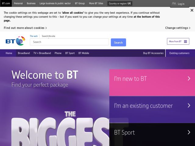 Coupons for BT Total Broadband