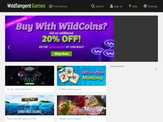 WildTangent Games coupons and promo codes. Trust auctionsales.tk for Video Games savings.
