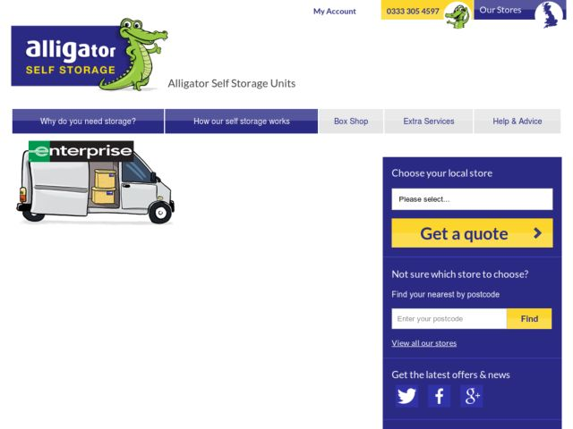 Coupons for Alligator Self Storage