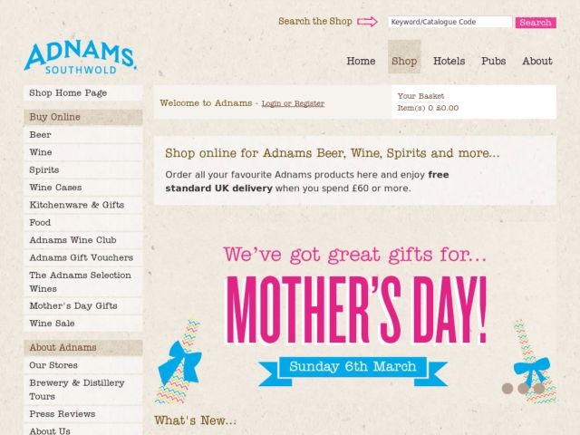 Coupons for Adnams Cellar and Kitchen