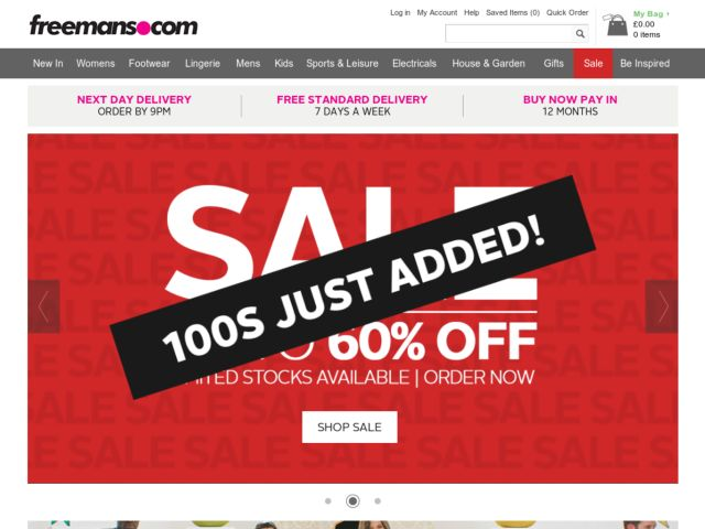 Coupons for Freemans