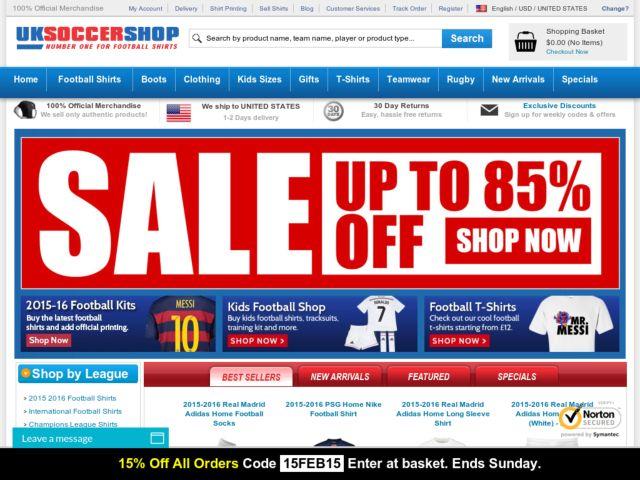 Soccershop com coupons