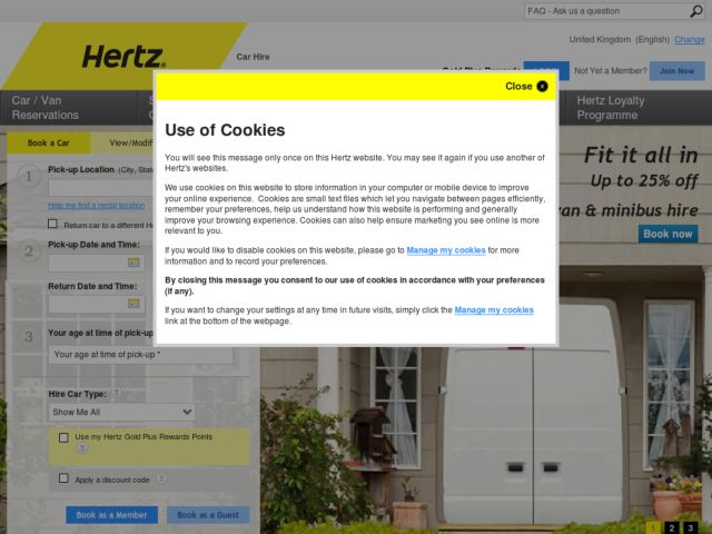 Coupons for Hertz Car Rental