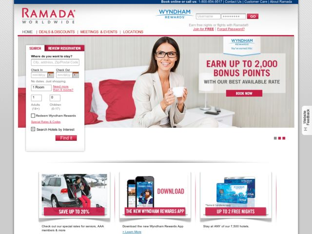 Coupons for Ramada Jarvis