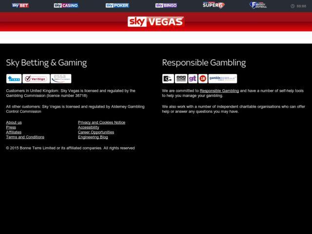 Coupons for Sky Vegas