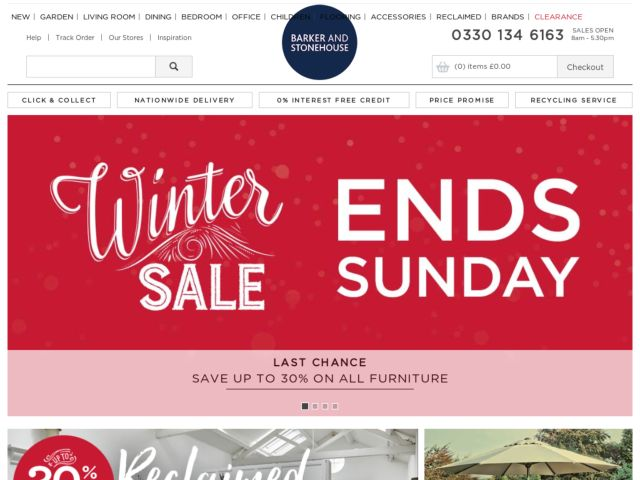 Coupons for Barker and Stonehouse