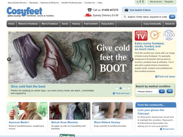 How to use our Cosyfeet promotional code: Saving with our Cosyfeet vouchers is easy as pie. Simply copy one of the Cosyfeet discount codes and continue shopping at the Cosyfeet online store. Once you added all items that you wish to purchase to your basket you are ready for the check out.