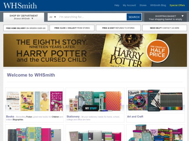 Coupons for WH Smith