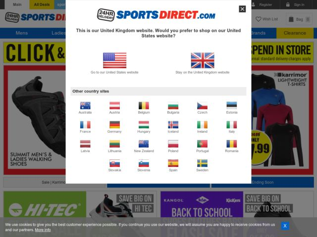 Coupons for Sports Direct
