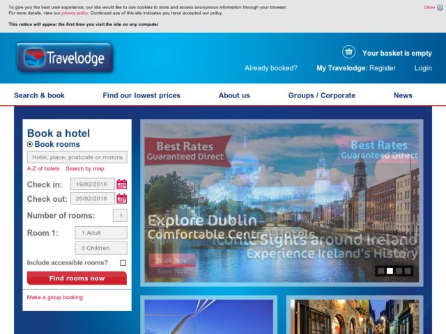 Coupons for Travelodge.ie