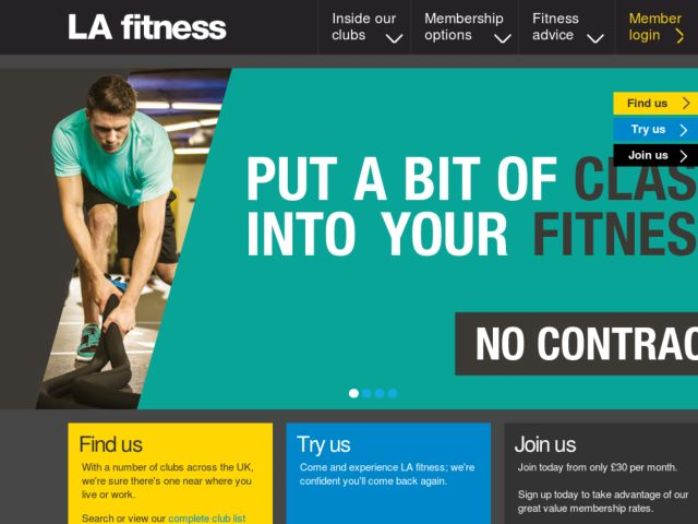 Coupons for LA Fitness