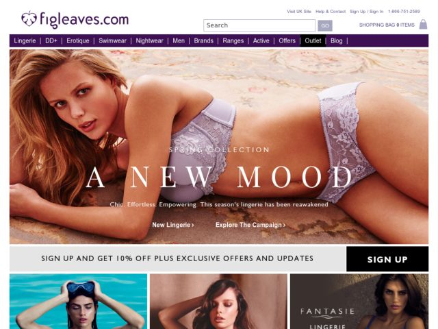 Coupons for Figleaves