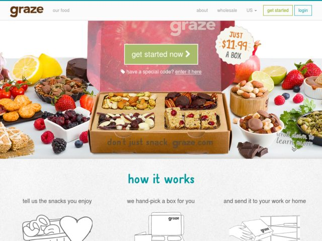 Coupons for Graze