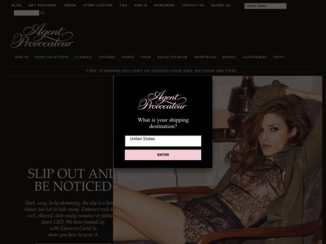 Coupons for Agent Provocateur
