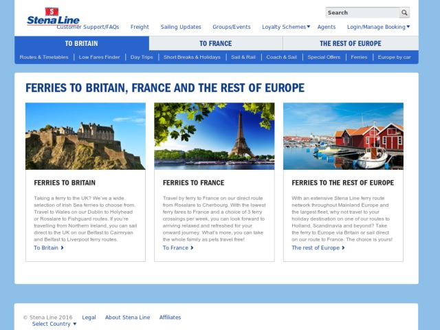 Coupons for Stena Line Ireland