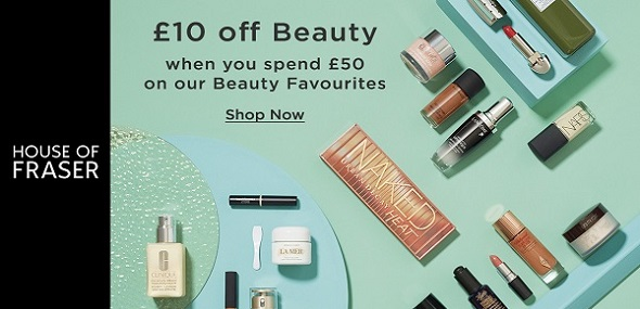 house of fraser beauty