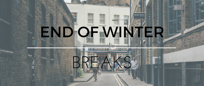 Affordable End of Winter Breaks