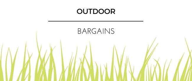 Summer 2016 Outdoor Bargains