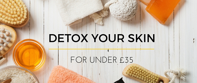 Detox Your New Year Skin for Less Than 35 Pounds