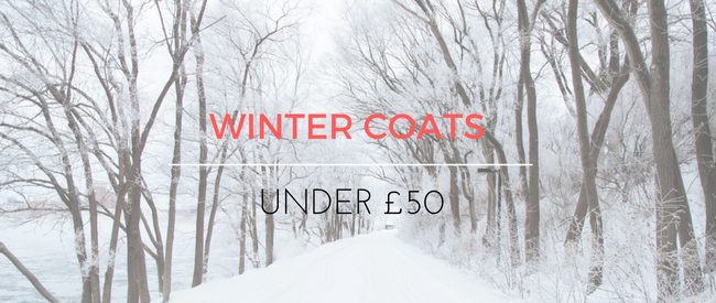 Winter Coats Under £50